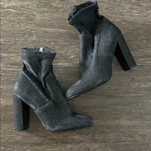 Steve Madden Edit Stretch Ankle Booties